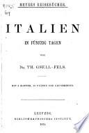 Italien in fünfzig Tagen