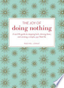 The Joy of Doing Nothing Book PDF
