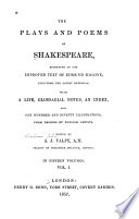 Life of Shakespeare  Dr  Johnson s preface  The tempest  Two gentlemen of Verona