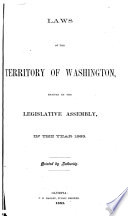Laws of the Territory of Washington