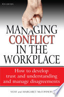 Managing Conflict In The Workplace 4th Edition