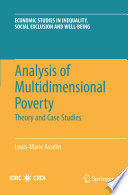 Analysis Of Multidimensional Poverty book