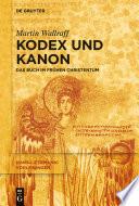 Kodex und Kanon