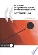 Examens des performances environnementales Examens environnementaux de l OCDE   Royaume Uni 2002
