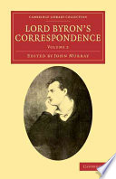 lord byron s correspondence volume 2