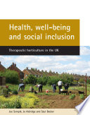 Health  Well being  and Social Inclusion
