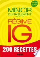 Régime IG : mincir durablement