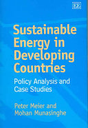 Sustainable Energy in Developing Countries