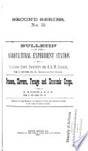 Bulletin of the Agricultural Experiment Station of the Louisiana State University and A    M  College