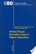 Verbal visual Narrative Texts in Higher Education