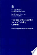 The Use of Restraint in Secure Training Centres Amended The Secure Taining Centre