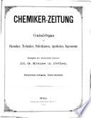 Chemiker-Zeitung/Chemische Apparatur