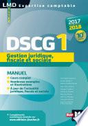 DSCG 1 Gestion juridique fiscale et sociale manuel 10e   dition Mill  sime 2017 2018