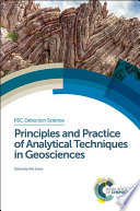 Principles And Practice Of Analytical Techniques In Geosciences
