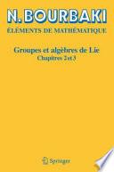 illustration Groupes et algèbres de Lie
