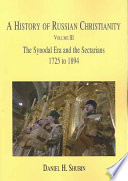 A History of Russian Christianity, Vol. III