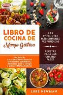 Libro de Cocina de Manga Gástrica