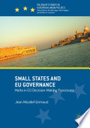 Small States And Eu Governance