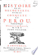 Histoire De La D Couverte Et De La Conqu Te Du P Rou