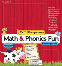 Skill Sharpeners Math and Phonics Fun  Kindergarten