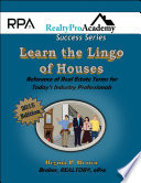 Learn the Lingo of Houses  2015 Ebook Version