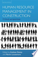 Human Resource Management in Construction Projects