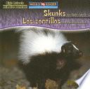 Skunks Are Night Animals   Los zorrillos son animales nocturnos