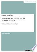 David Hume: Ein Traktat über die menschliche Natur