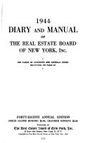 download ebook diary and manual of the real estate board of new york pdf epub