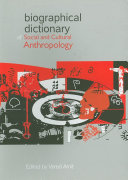 Biographical Dictionary of Social and Cultural Anthropology