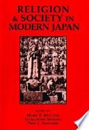 illustration du livre Religion and Society in Modern Japan