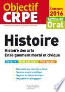 Objectif CRPE Histoire   2016