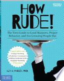 How Rude! by Alex J. Packer