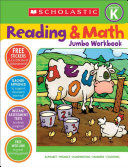Scholastic Reading   Math Jumbo Workbook Grade K