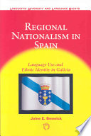 Regional Nationalism in Spain