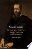 Vasari S Words