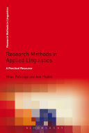 Research Methods in Applied Linguistics: A Practical Resource