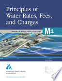 Principles Of Water Rates Fees And Charges