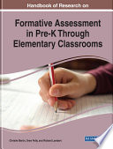 Handbook Of Research On Formative Assessment In Pre K Through Elementary Classrooms