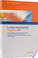 Rabe v. Pappenheim, Lexikon Arbeitsrecht 2018 incl. Webinar