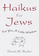 download ebook haikus for jews pdf epub