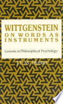 Wittgenstein on Words as Instruments
