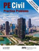 Pe Civil Practice Problems