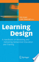 illustration Learning Design, A Handbook on Modelling and Delivering Networked Education and Training