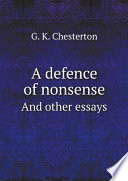 A defence of nonsense