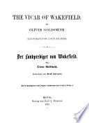 The Vicar of Wakefield, (Der Landprediger Von Wakefield.) - Berlin, Carl J. Rhemann 1857