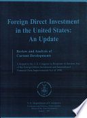 Foreign Direct Investment in the U. S.