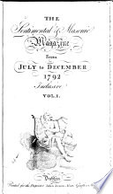 The Sentimental And Masonic Magazine