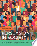 Ebook Persuasion in Society Epub Jean G. Jones,Herbert W. Simons Apps Read Mobile