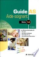 Guide AS  aide soignant